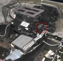 Форд Фокус 2 замена мотора печки