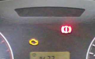 Что делать если горит контрольная лампа неисправности двигателя