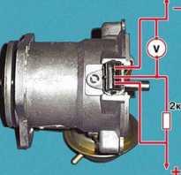 Хонда одиссей датчик температуры двигателя где находится